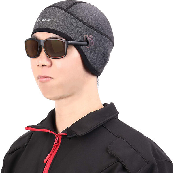 Sturdily designed motorcycle beanie for you