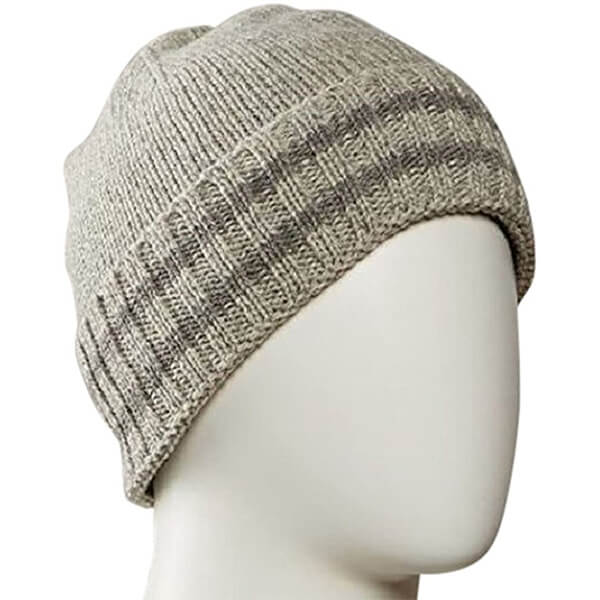 Acrylic Wool Blend Cuffed Beanie for All Activities
