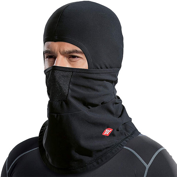 Ultra protective motorcycle  beanie for cold temperatures