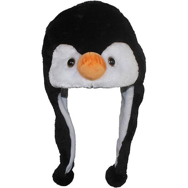 Penguin Winter Hat with Fleece Lining