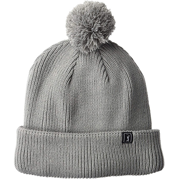 Warm Thick Pom-pom Beanie for Cold Temperatures