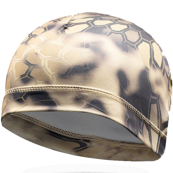 Thin unique look motorcycle beanie for regular usage