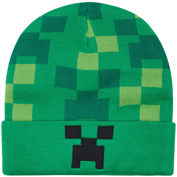 Cuffed Minecraft Beanie in One Size