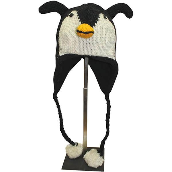 Hand Knit Unisex Fleece Lined Winter Beanie