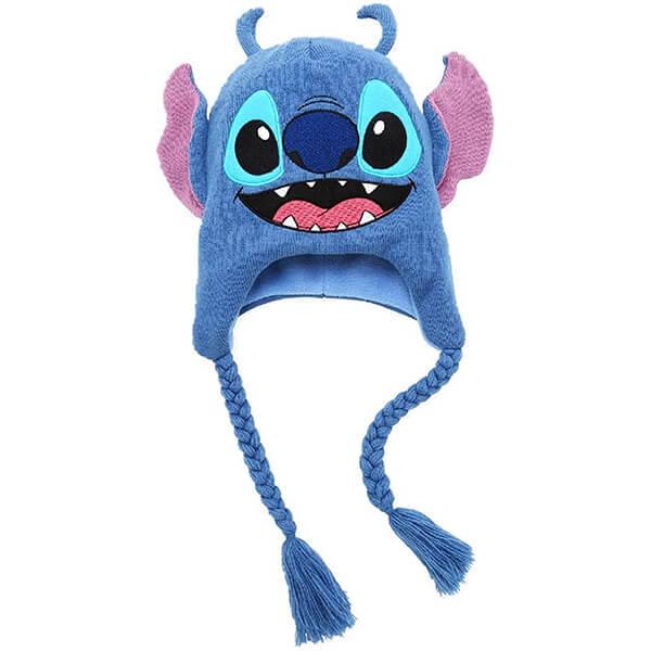 Lilo and Stitch Smiling Tassel Beanie