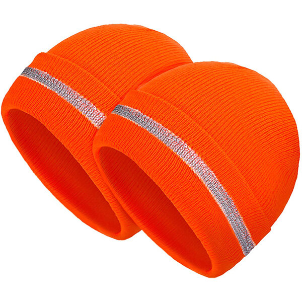 Two in one combo safety beanies at best prices