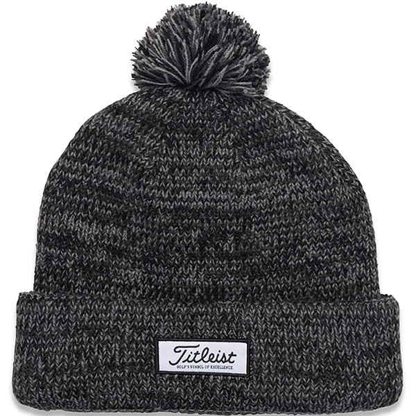 Ultimate Warmth Tricoloured Knit Golf Beanie