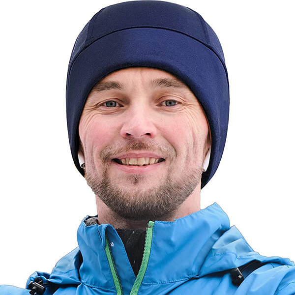 Waterproof running beanies for men to hold Bluetooth