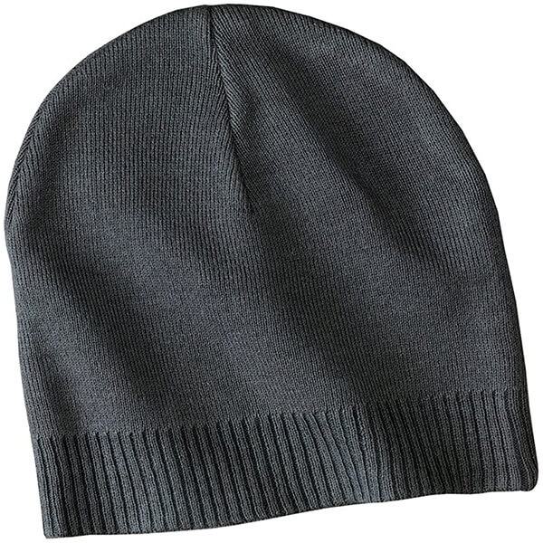 100% cotton sweat-free cuffless beanie for all seasons