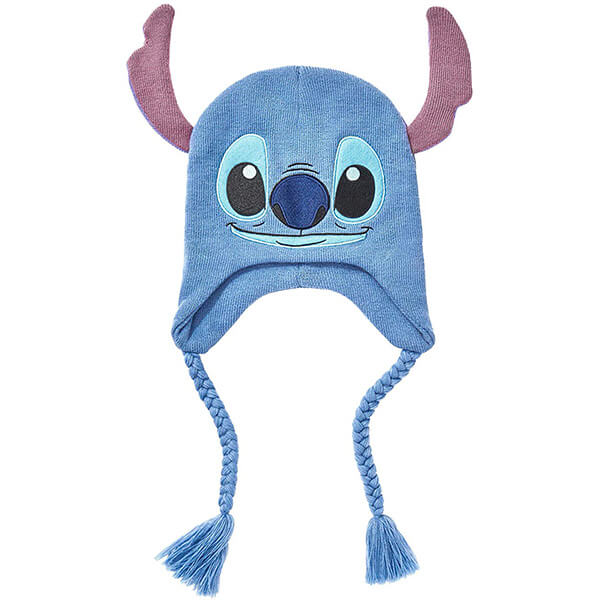 Lilo and Stitch Face Tassel Beanie
