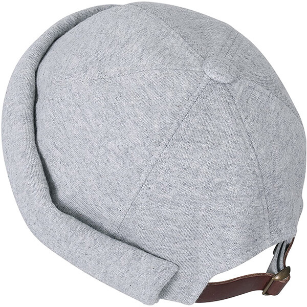 Breathable, 100% cotton strapback beanie for unisex