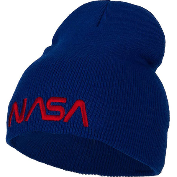 Royal Blue Slouchy Beanie for All Head Sizes