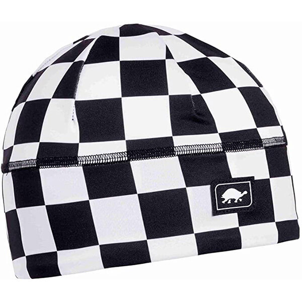 Turtle Fur Checkered Skull Cap With UV Protection