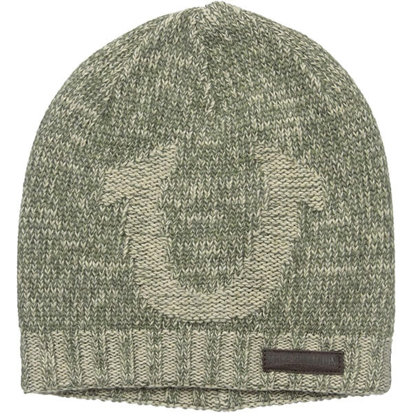 Unique look cuffless beanie with all in one benefits