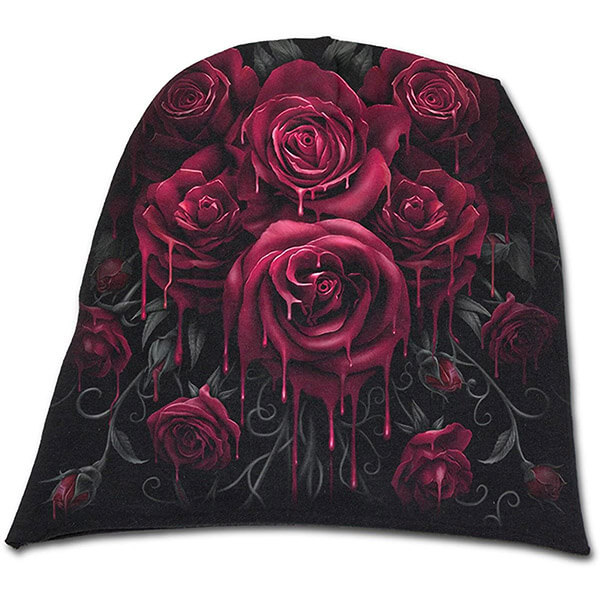 Alluring cotton rose beanie for you