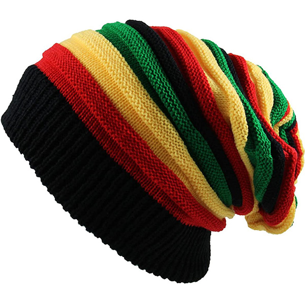 Classic Style Rasta Beanie At Affordable Price