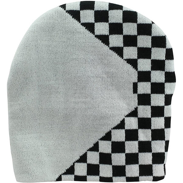 Half Checkered Beanie for All Seasons