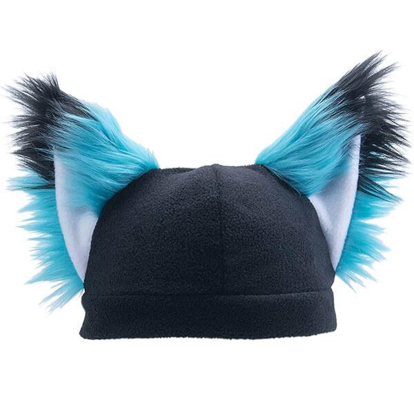 Supercool Blue Fox Beanie