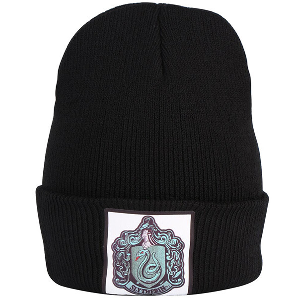 Thin Knit Slytherin Beanie for Men