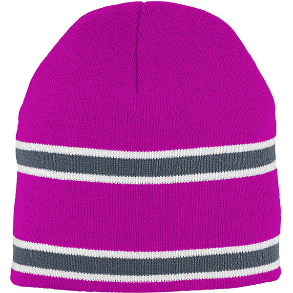 Two layers close fit acrylic unisex beanie