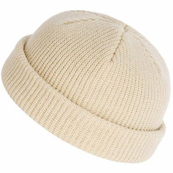 White winter hat beanie