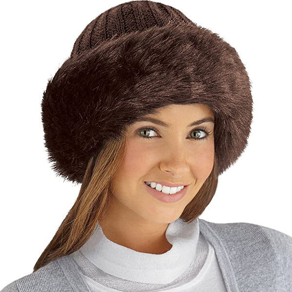 Soft Chocolate Brown Beanie for All Reasons