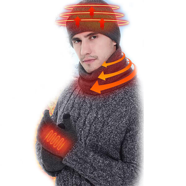 Heating beanie with mobile power supply at best price
