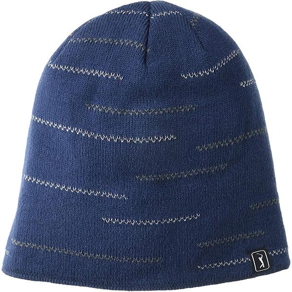Safety Reflective Golf  Beanie Hat For Darker Weather