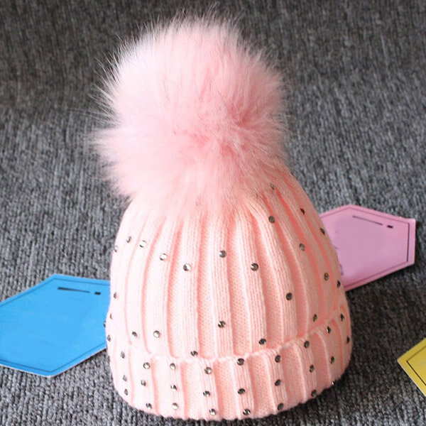 Warm and comfortable sequin beanie for toddlers