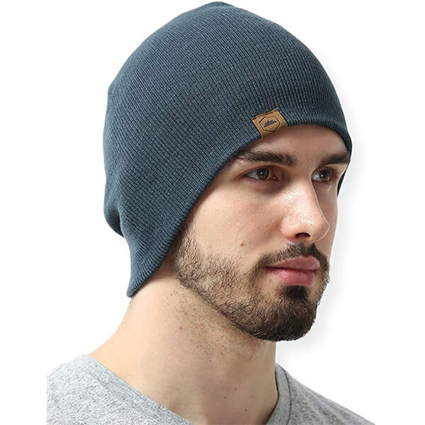 Daily ribbed knit unisex beanie