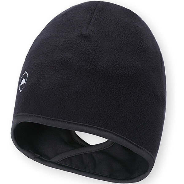 Ponytail running beanie for all genders