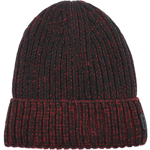 Warm Wool Polyester Ribbed Beanie for Regular Usage