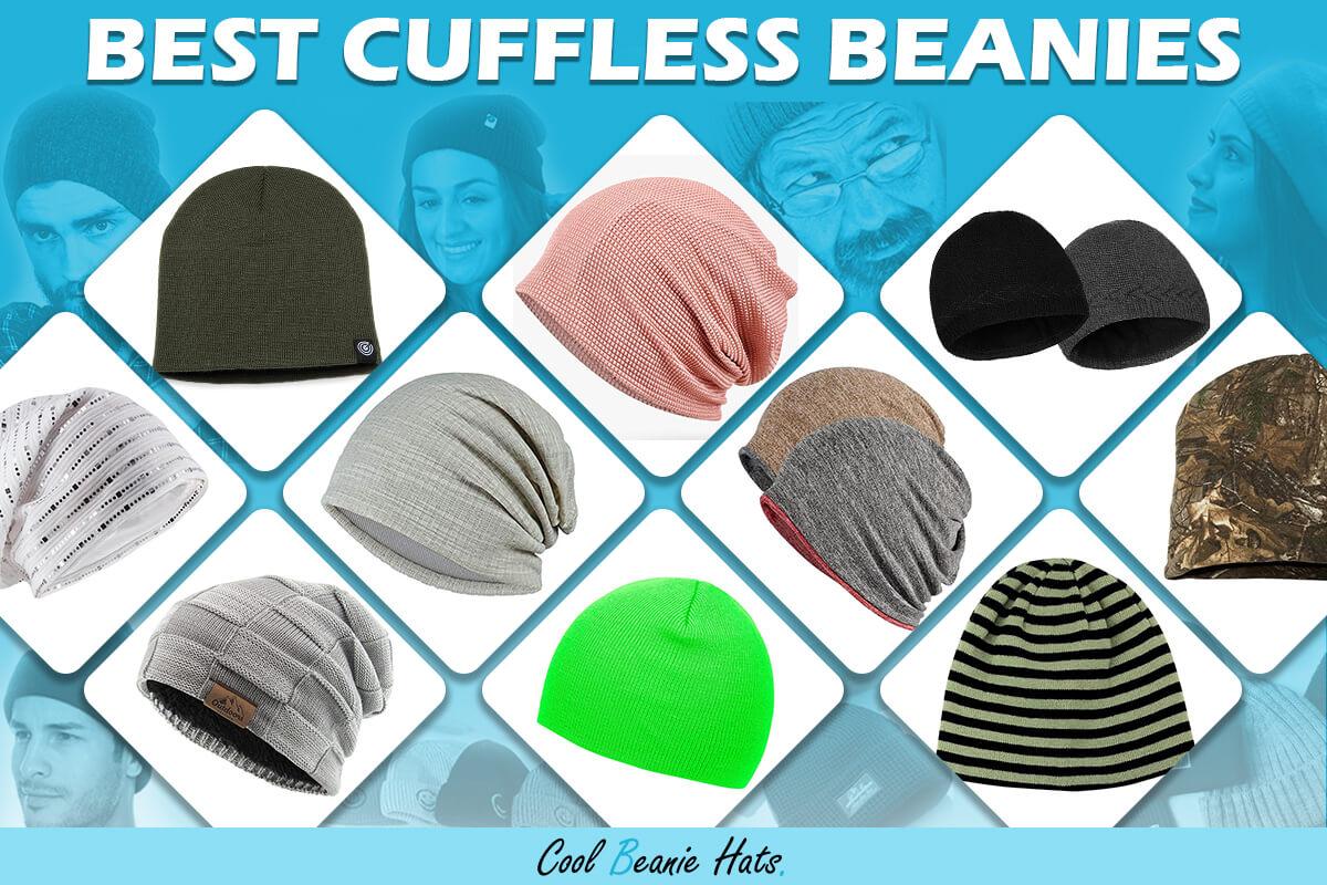best cuffless beanies