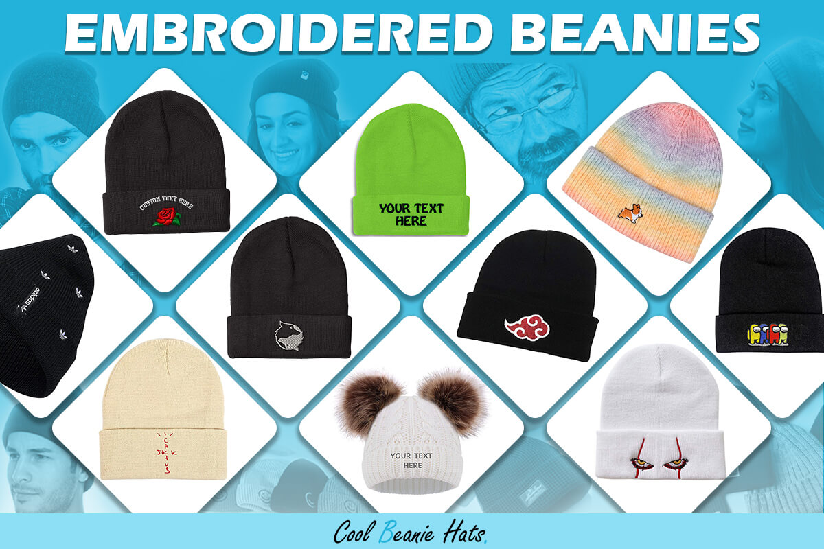 best embroidered beanies