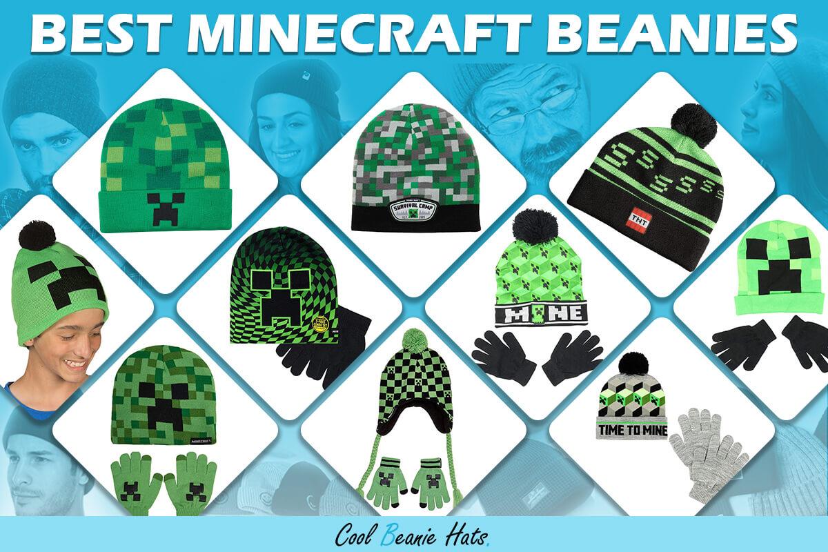 best minecraft beanies