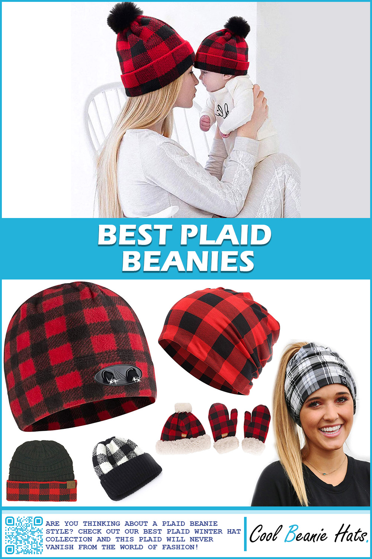 best plaid beanies