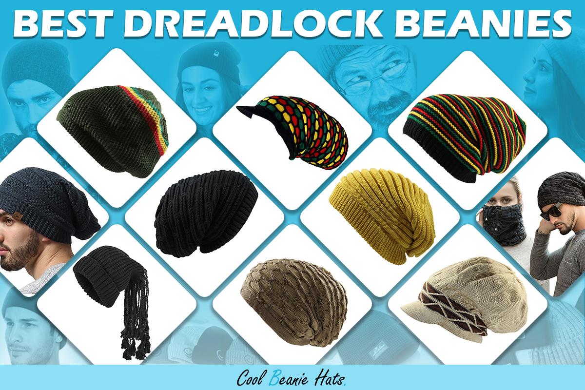 dreadlock beanies