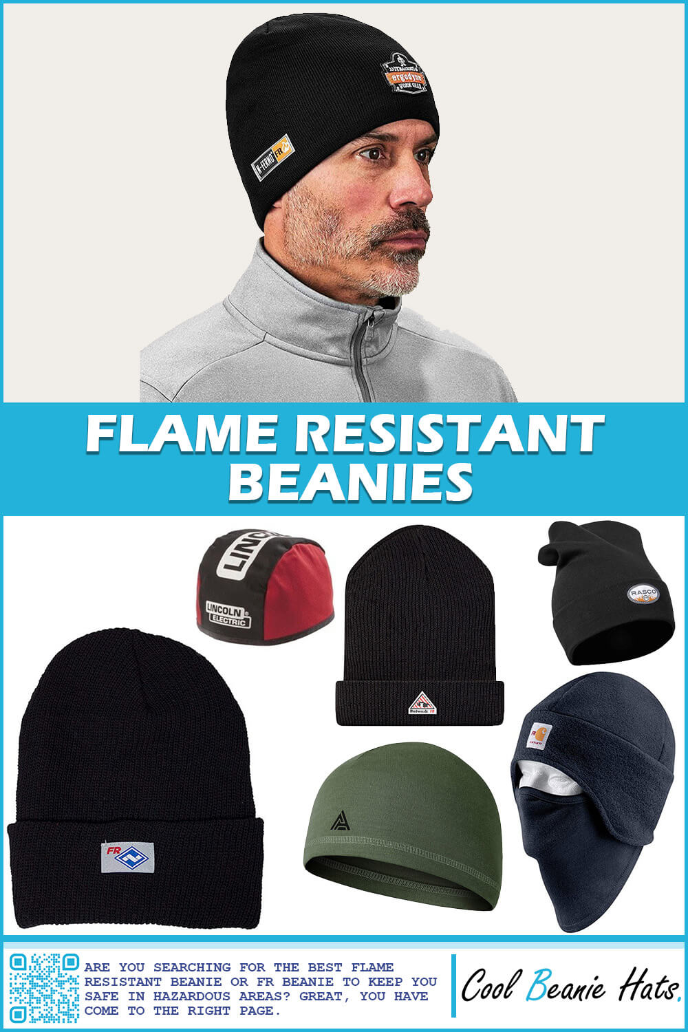 flame resistant beanie