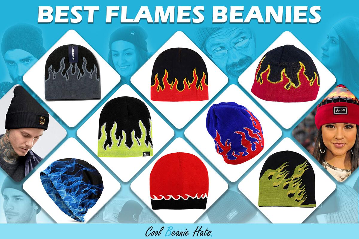 flames beanies