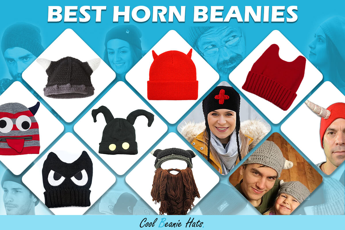 horn beanies
