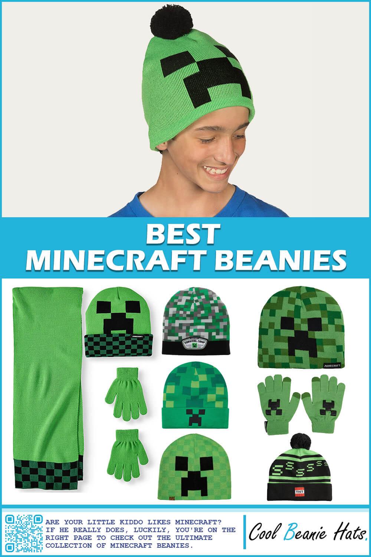 minecraft beanies