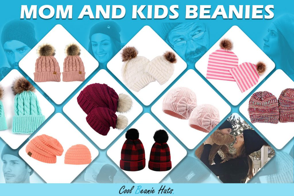 mom and me beanies