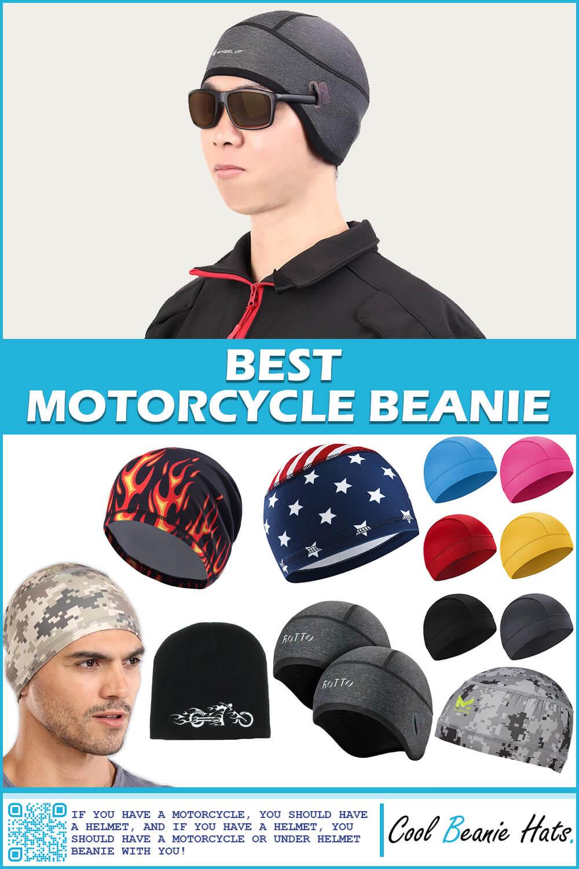 motorcycle helmet beanies