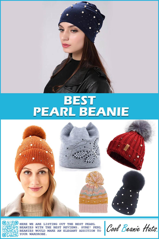 pearl beanie