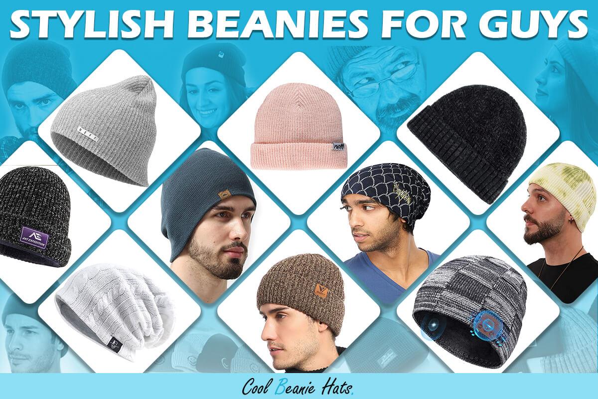 stylish beanies for guys