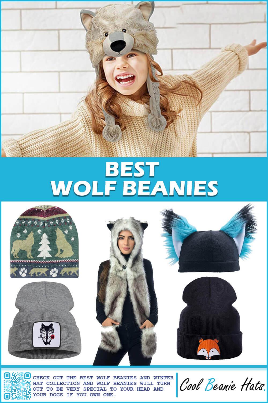 wolf beanies