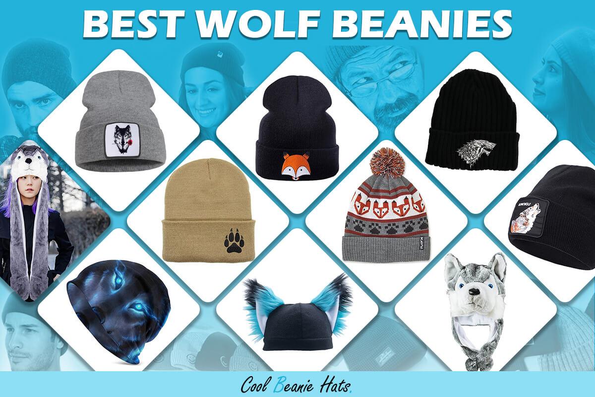 wolf winter beanies