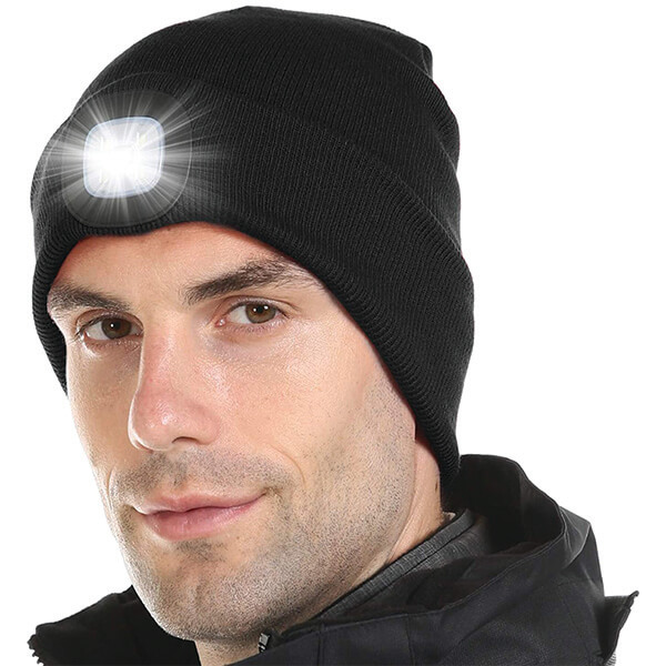 High-Quality Rechargeable LED Beanie for Affordable Price