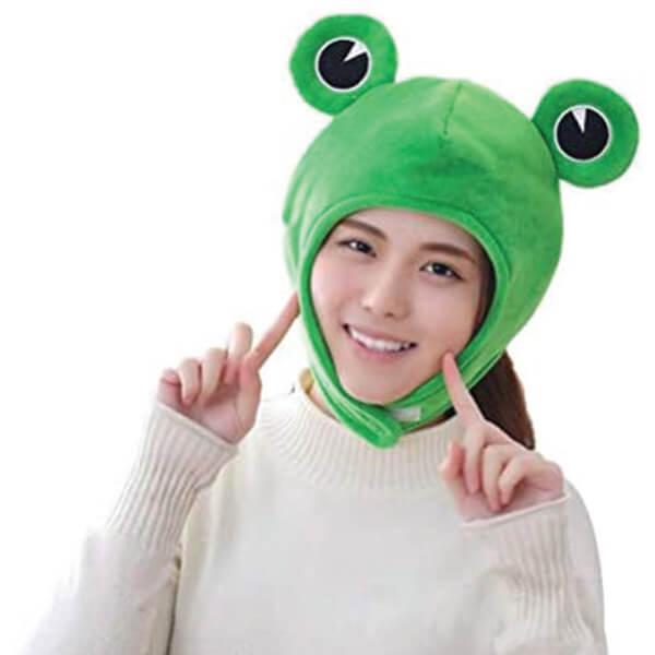 Popular Frog Hook and Loop Beanie