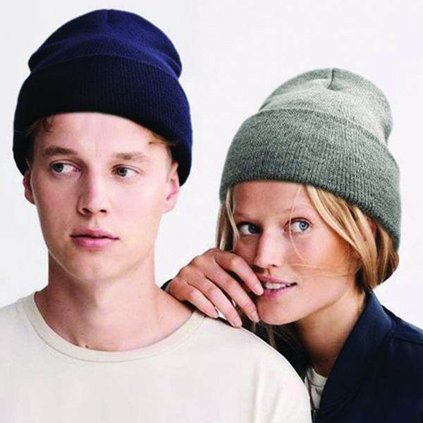 Slouchy Knitted Beanie for Men
